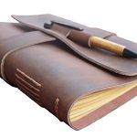 Leather-Journal-Diary-with-Bamboo-Pen-by-case-Elegance-0