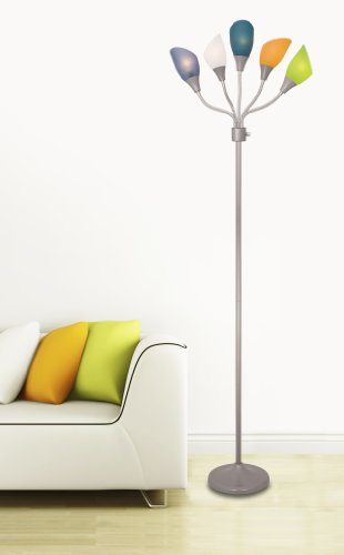 Light-Accents-Medusa-Silver-Floor-Lamp-with-Multicolor-Acrylic-Shades-0-0
