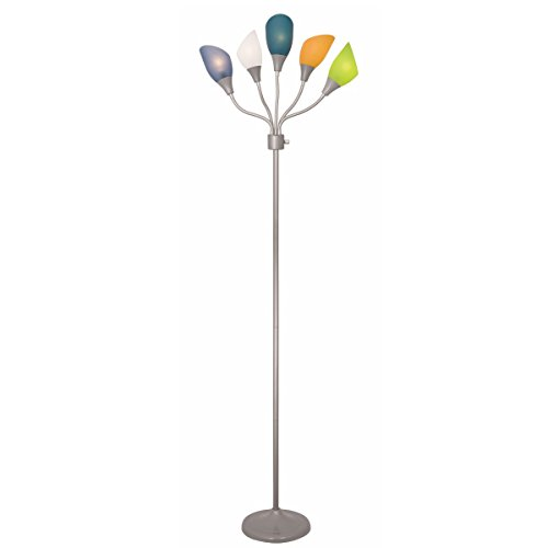 Light-Accents-Medusa-Silver-Floor-Lamp-with-Multicolor-Acrylic-Shades-0-1