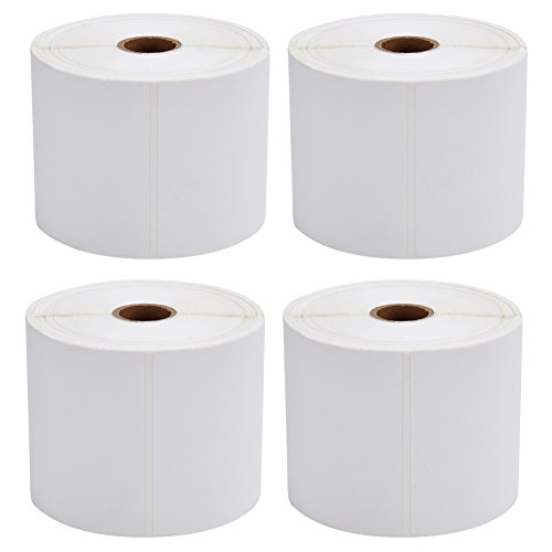 MFLABEL-4-Rolls-of-450-Direct-Thermal-Shipping-Labels-4×6-for-Zebra-2844-Zp-450-Zp-500-Zp-505-0