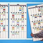Magna-Visual-CBK-4818-48-x-18-in-Modular-Calender-3-Panel-Board-Kit-with-Track-0