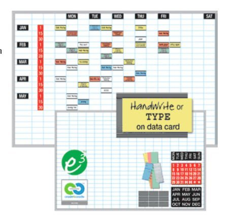 Magna-Visual-OB-1824B-18in-x-24in-Magnetic-Work-Planning-Board-Kits-Fused-Grid-Lines-0