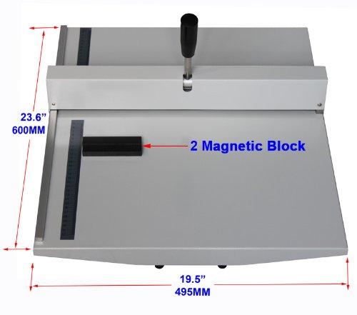 Manual-14-360mm-Scoring-Paper-Creasing-Machine-Scorer-Creaser-2Magnetic-Block-0-0