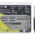Manuscript-Master-Writing-Set-Bundled-with-Plexon-Metal-Roller-Pen-0