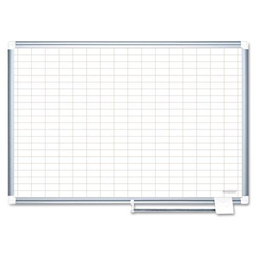 MasterVision-Grid-Planning-Board-1×2-Grid-48×36-WhiteSilver-MA0592830-DMi-EA-0