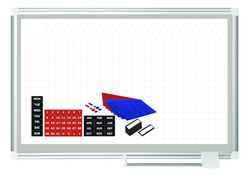 MasterVision-Magnetic-Gold-Ultra-Dry-Erase-Grid-Planning-Board-with-Accessory-Kit-36-x-48-Inches-GA05108830A-0