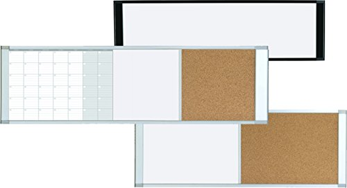 MasterVision-Magnetic-Gold-Ultra-Dry-EraseCork-Cubicle-Bulletin-Board-48-x-18-Inches-Aluminum-Frame-XA42003700-0-0