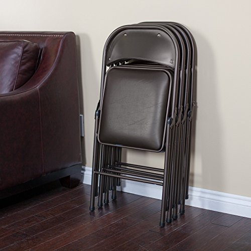 Meco-Sudden-Comfort-Deluxe-Double-Padded-Chair-and-Back-5-Piece-Card-Table-Set-Cinnabar-0-0