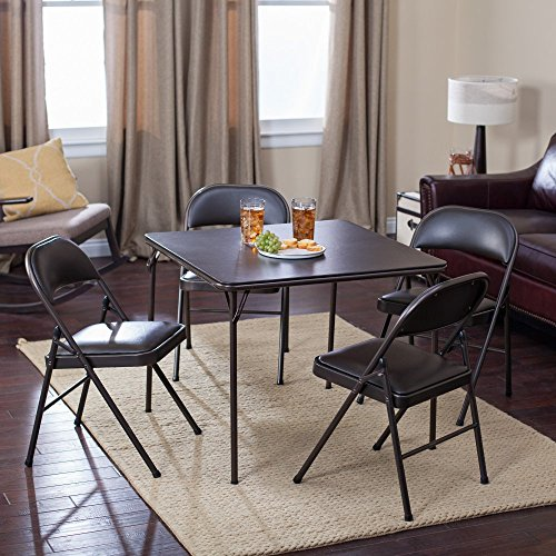 Meco-Sudden-Comfort-Deluxe-Double-Padded-Chair-and-Back-5-Piece-Card-Table-Set-Cinnabar-0