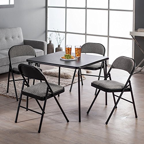 Meco-Sudden-Comfort-Deluxe-Double-Padded-Chair-and-Back-5-Piece-Card-Table-Set-Courtyard-Black-0
