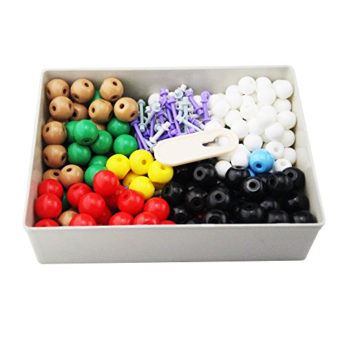 Mererke-Advanced-Organic-Chenistry-357-PIECE-Molecular-Model-Teacher-Set-Kit-166-Atom-Parts-MM-X4-0-1