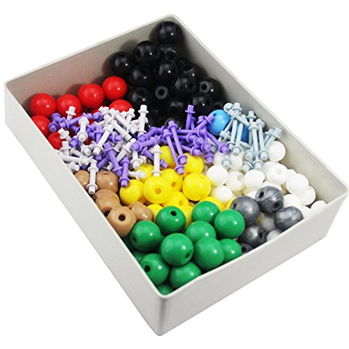 Mererke-Advanced-Organic-Chenistry-357-PIECE-Molecular-Model-Teacher-Set-Kit-166-Atom-Parts-MM-X4-0