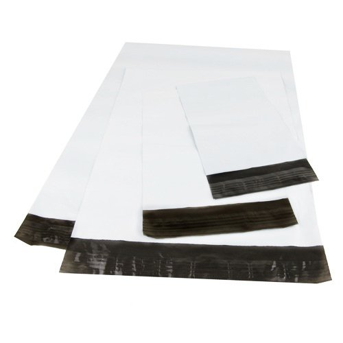 Metrogalaxy-Premium-100PC-Self-Sealing-White-Poly-Mailers-Envelopes-Bags-with-Adhesive-Self-Sealing-Strip-Mailing-Shipping-Packaging-Supply-Water-Resistant-Bags-0-0