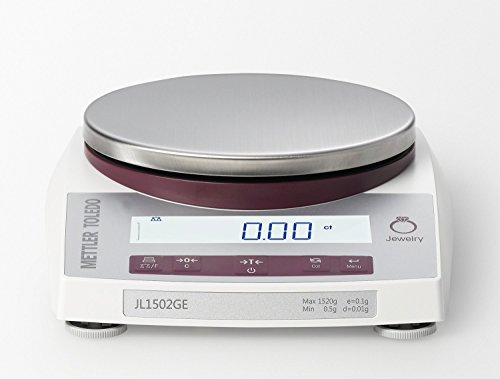 Mettler-Toledo-JL602-GLA01-Gram-Scale-Legal-for-Trade-Gram-Ounce-DWT-Jewelry-Scale-610-gram-gr-Capacity-001-gr-Readability-With-RS232-Interface-Port-0-0