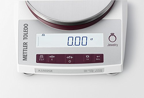 Mettler-Toledo-JL602-GLA01-Gram-Scale-Legal-for-Trade-Gram-Ounce-DWT-Jewelry-Scale-610-gram-gr-Capacity-001-gr-Readability-With-RS232-Interface-Port-0-1