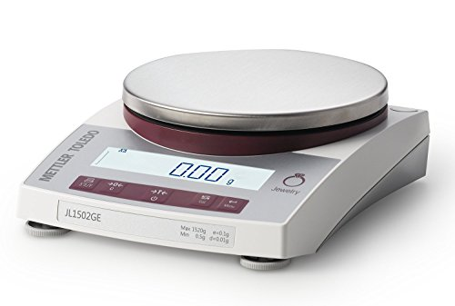 Mettler-Toledo-JL602-GLA01-Gram-Scale-Legal-for-Trade-Gram-Ounce-DWT-Jewelry-Scale-610-gram-gr-Capacity-001-gr-Readability-With-RS232-Interface-Port-0