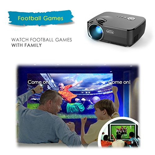 Meyoung-Home-Projector-HD-Video-Projector-1080P-1200-Lumens-150-for-Movie-Night-DVD-Player-via-HDMIUSBAVSDVGA-Ports-GP70-Black-0-1