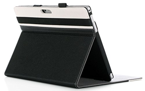 Microsoft-Surface-Pro-4-Case-ProCase-Premium-Folio-Cover-Case-for-Surface-Pro-4-123-Compatible-with-Surface-Pro-4-Type-Cover-Keyboard-Built-in-Stand-with-Multiple-viewing-Angles-0
