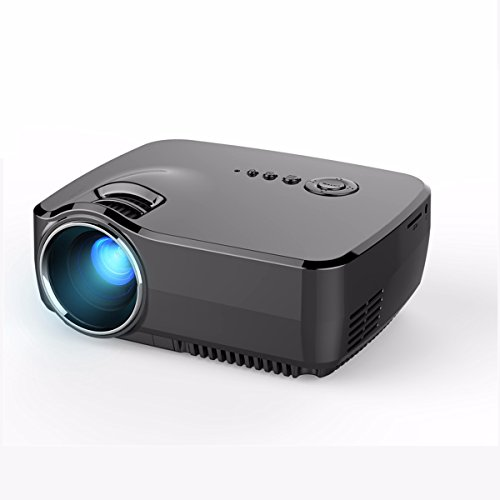 Mini-Projector-ELEGIANT-HD-Movie-Portable-Projectors-1200-Lumens-Support-1080P-HDMIUSBAVSDVGA-Built-in-TV-Tuner-for-Home-Theater-PS2PS3XBOX-Games-iPhone-iPad-Mac-Android-Smartphone-0-0
