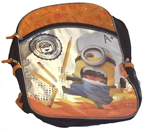 Minons-Despicable-Me-15-piece-School-Set-Bundle-16-inch-Backpack-Notebook-Pencils-Crayons-Markers-Scissors-and-More-0-0