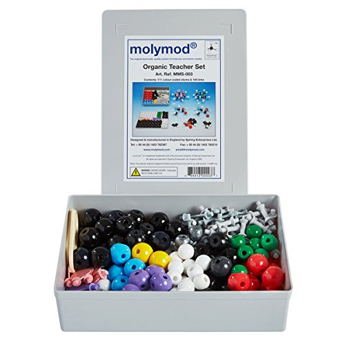 Molymod-MMS-003-Organic-Chemistry-Molecular-Model-Teacher-Set-111-atom-parts-0