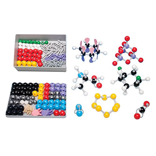 Molymod-MMS-004-InorganicOrganic-Chemistry-Molecular-Model-Teacher-Set-108-atom-parts-0-1