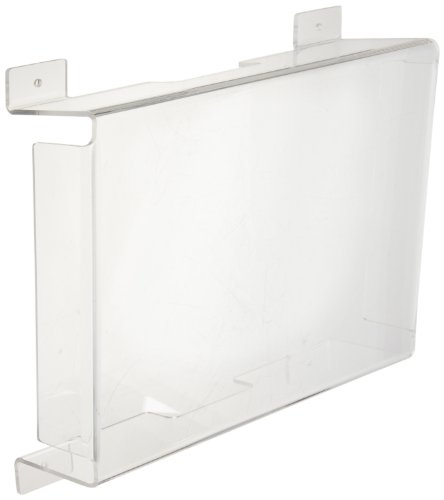 Morris-Products-73090-Polycarbonate-VandalEnvironmental-Shield-Guard-Exit-Light-15-Width-6-Depth-Used-With-Exit-Lights-Cast-Aluminum-Exit-Lights-0