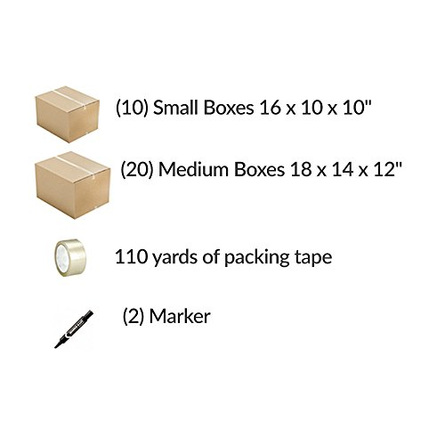 Moving-Boxes-Economy-Value-Kit-For-2-Bedrooms-30-Moving-Boxes-Moving-Supplies-Packing-Tape-0-1