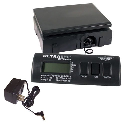 My-Weigh-Ultraship-35-LB-Electronic-Digital-Shipping-Scale-Black-with-Ultraship-Power-Supply-0-0