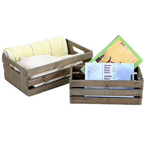 MyGift-Distressed-Wood-Nesting-Boxes-Storage-Crates-w-Handles-Set-of-2-Gray-0-0