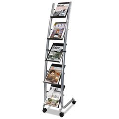 Narrow-Mobile-Literature-Display-30-34w-x-5-12d-x-37-12h-ChromeBlack-0