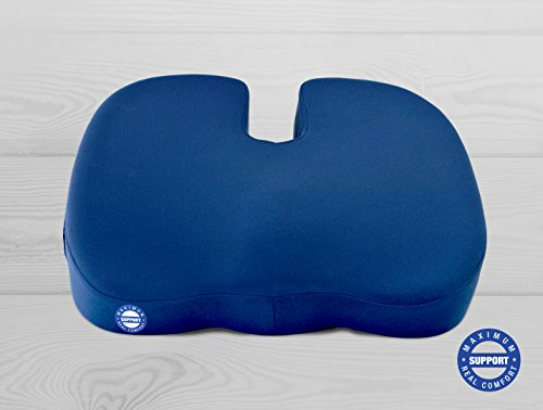New-Coccyx-Cushion-accomodates-Larger-Bodies-Men-Pregnant-Women-Back-Pain-Relief-Gamechanger-With-Maximum-Support-and-Comfort-Does-Not-Flatten-Safety-Anti-Slip-Base-Superior-Quality-Proprietary-Combo–0-1