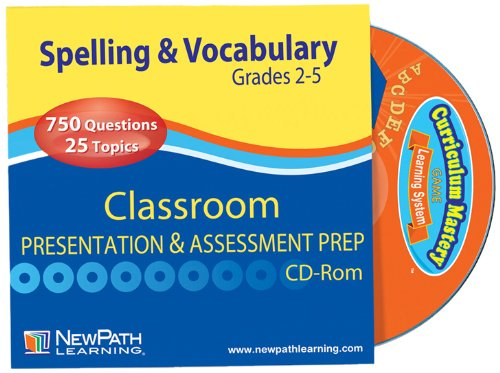 NewPath-Learning-Mastering-Spelling-and-Vocabulary-Interactive-Whiteboard-CD-ROM-Site-License-Grade-2-5-0
