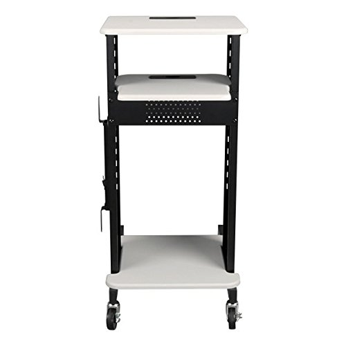 Norwood-Commercial-Furniture-NOR-TY-1000-Laptop-Caddy-Cart-Presentation-Station-Light-GreyBlack-0-0