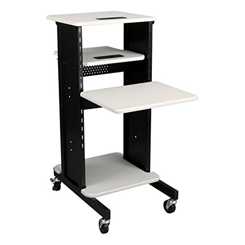 Norwood-Commercial-Furniture-NOR-TY-1000-Laptop-Caddy-Cart-Presentation-Station-Light-GreyBlack-0