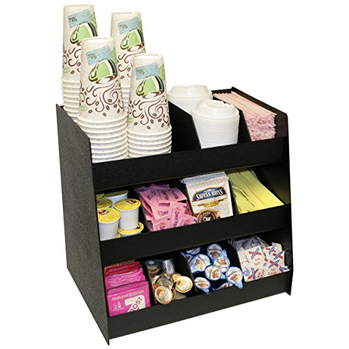 Now-11-Compartments-for-Coffee-Condiments-Comes-with-8-Extra-Tall-Removable-Dividers-16-Wide-Made-in-the-USA-by-PPM-0