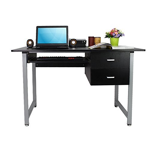 OGIMA-Compact-PC-Computer-Desk-Home-Office-Study-desk-Laptop-Table-With-2-Drawers-0-0