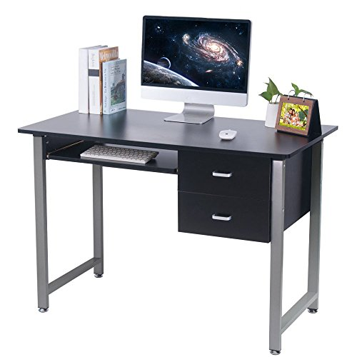 OGIMA-Compact-PC-Computer-Desk-Home-Office-Study-desk-Laptop-Table-With-2-Drawers-0