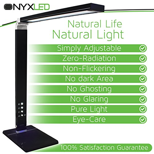 ONYXLED-LS1048-14W-Adjustable-LED-Touch-Desk-Lamp-with-3-Color-Temperatures-5-Level-Touch-Dimmer-USB-Charging-Port-Piano-Black-0-1