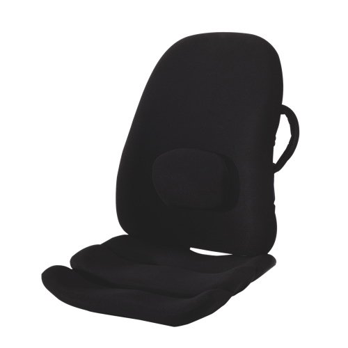 Obusforme-Ultimate-Ergonomic-Seating-Combo-Obus-Lowback-Backrest-Ergonomic-Seat-Cushion-and-Positioner-Pain-Relief-Comfortable-For-Travel-HomeOfficeCarSeat-Sciatica-Muscle-Ache-Relief-0