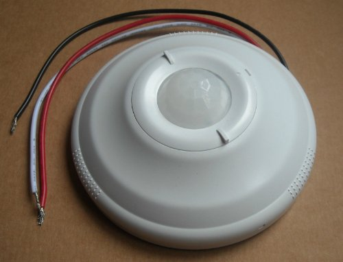 Occupancy-Ceiling-Mounted-PR-Motion-Sensor-Detector-Switch-120V-277V-AC-White-0
