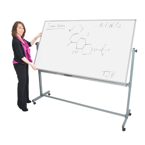 Offex-Mobile-72x40WxH-Inches-Double-Sided-Dry-Erase-Magnetic-Whiteboard-Easel-3-Pack-0-0
