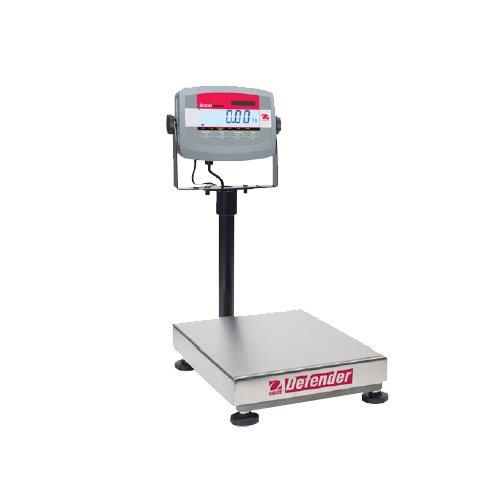 Ohaus-D31P30BR-Defender-3000-Bench-Scale-Capacity-30kg-60lb-Readability-5g-001lb-0