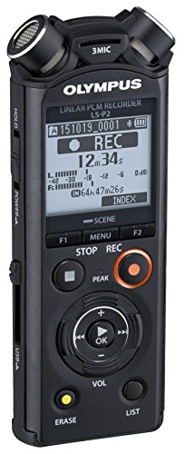 Olympus-V414151BU000-Linear-Pcm-LS-P2-Voice-Recorder-0-0