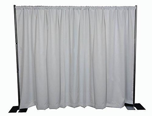 OnlineEEI-Black-Powdercoat-Portable-Pipe-and-Drape-Backdrop-Kit-No-Drapes-0