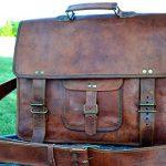 PL-16-Inch-Vintage-Leather-Messenger-Bag-Briefcase-Fits-upto-156-Inch-Laptop-0