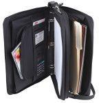 Padfolio-3-Ring-Binders-Folder-File-Divider-Organizer-Planner-w-Smart-Handle-Briefcase-Luggage-Portfolio-FREE-RETURN-0