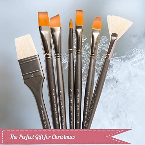 Paint-Brush-Set-for-Watercolor-Acrylic-Gouache-Oil-Painting-15-Professional-Artist-Brushes-with-Portable-Carry-Case-Best-Art-Supplies-Travel-Kit-by-DArtisan-Shoppe-0-1