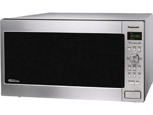 Panasonic-Genius-1250-Watt-Sensor-Microwave-with-Inverter-Technology-Stainless-Steel-0-0