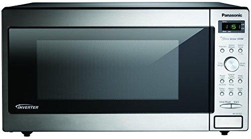 Panasonic-Genius-1250-Watt-Sensor-Microwave-with-Inverter-Technology-Stainless-Steel-0